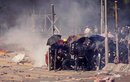 """EEUU condena el """"injustificado"""" uso de la fuerza en el marco de las protestas en Hong Kong"""