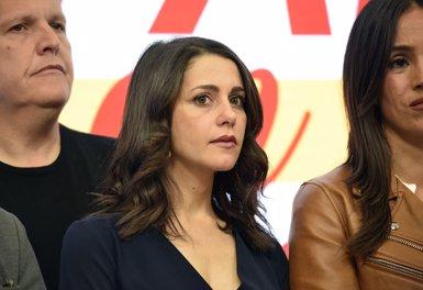 """Arrimadas creu que té el suport """"majoritari"""" de Cs però diu que serà respectuosa amb el procés de primàries (Francisco Guerra - Europa Press)"""