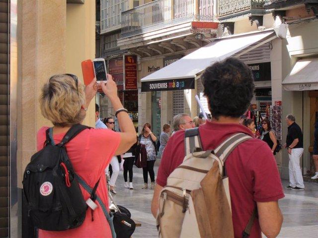 Turismo, turista, foto, viajeros, visitantes, móvil, smartphone