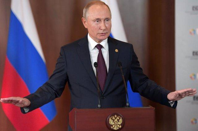 Ucrania.- El Kremlin confirma que Putin participará en la cumbre sobre Ucrania e