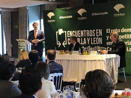 """Mañueco: """"Si Pedro Sánchez piensa en el interés de España, allí encontrará siempre al PP"""""""