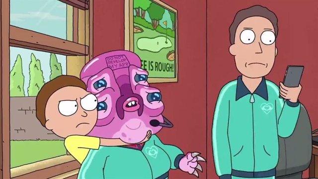 Imagen de la cuarta temporada de Ricky y Morty