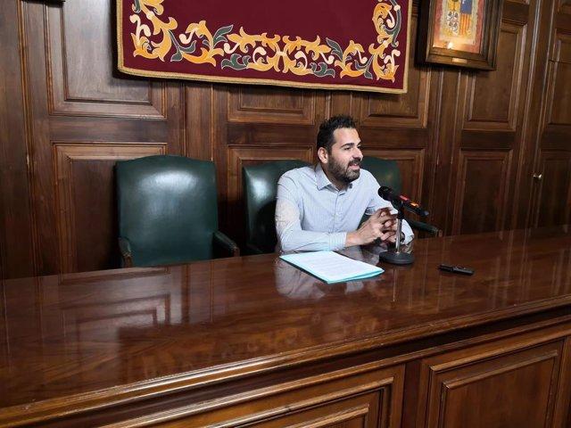 Francisco Blas ha anunciadoo que dimite como concejal de Ciudadanos en el Ayuntamiento de Teruel