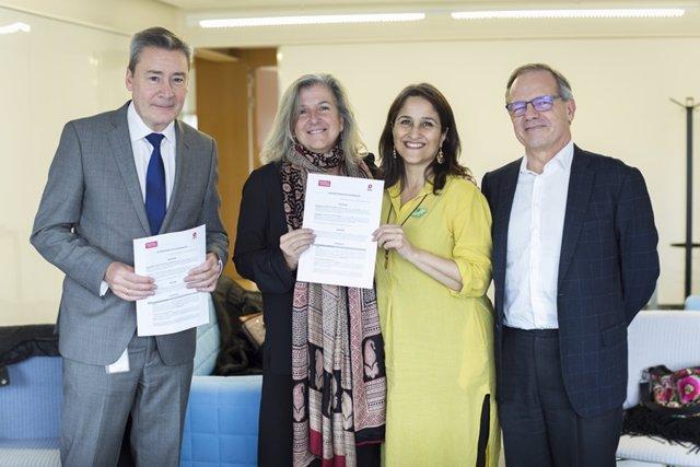 COMUNICADO: La Fundación SM y Design for Change, unidos para ayudar a la escuela