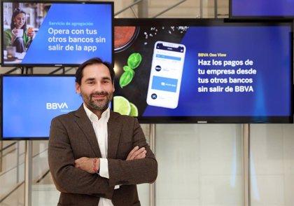 La app de BBVA permite pagar desde cuentas bancarias de la competencia