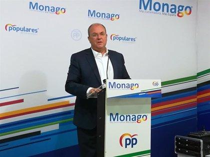 """Monago cree que los presupuestos extremeños 2020 serán """"un instrumento mayúsculo"""" de la Junta """"para mentir"""""""