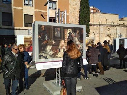 Zamora celebra el bicentenario del Prado con la exposición de medio centenar de réplicas en plena calle