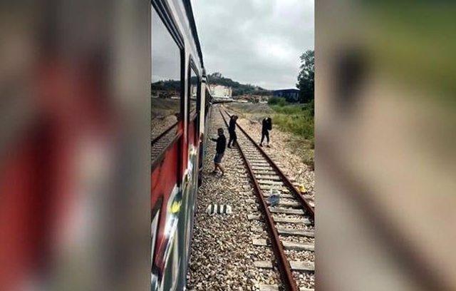 Detención de grafiteros por daños en trenes