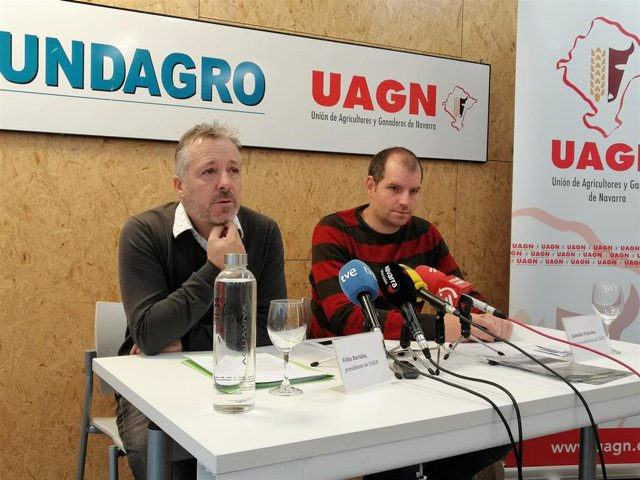 Félix Bariáin y Gonzalo Palacios, de UAGN