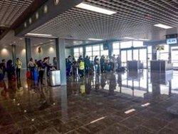 L'Aeroport de Reus posa en servei part de l'ampliació de la terminal (ACN)