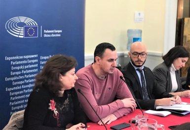 """El cineasta ucraïnès Oleg Sentsov: """"A Rússia no existeixen els judicis justos"""" (EUROPA PRESS)"""