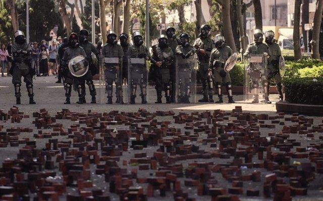 China.- La UE ve preocupante la escalada de violencia en la Universidad Politécn