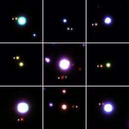 Numerosas estrellas múltiples con planetas en un radio de 1.600 años luz