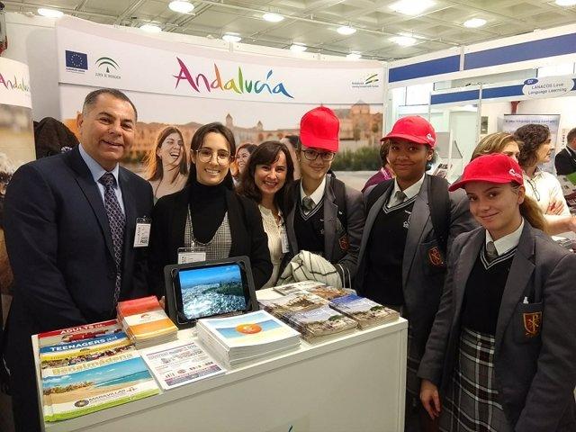 Feria de Turismo Idiomático de Londres donde se ha promocionado el destino Málaga Costa del Sol
