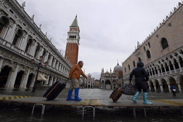 Las inundaciones en Venecia