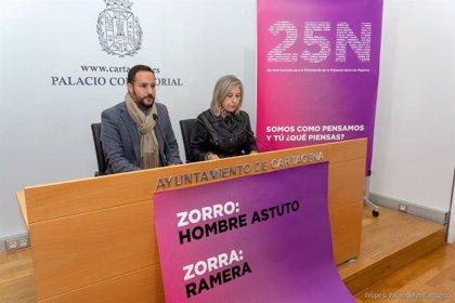Ayuntamiento Cartagena programa coloquios, talleres y una manifestación con motivo del 25N