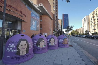 Veinte mujeres destacadas aparecerán en los contenedores de reciclaje