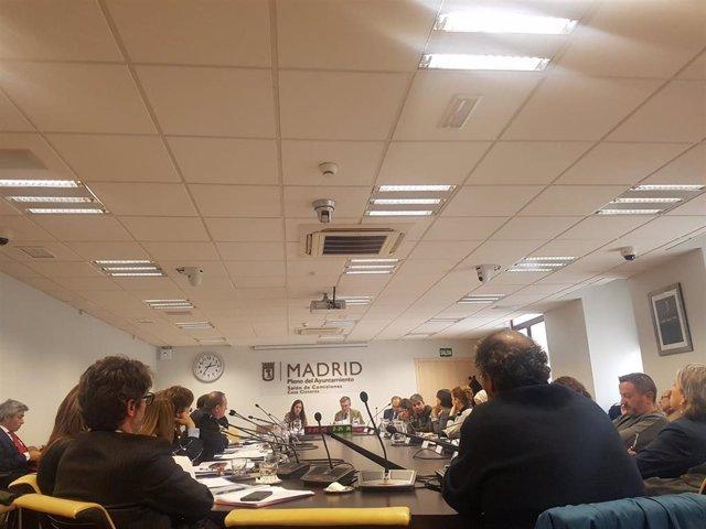 Comisión de Economía de Economía y Hacienda del Ayuntamiento de Madrid