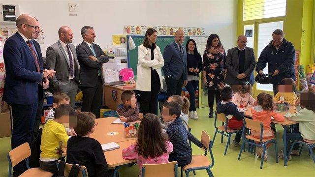 El consejero de Educación inaugura el colegio Flor de Azahar de Cártama (Málaga)