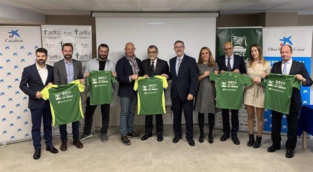 Presentación de la V Carrera contra el Cáncer 'AECC Mallorca en Marcha'