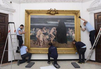 '¡Triste Herencia!' de Sorolla vuelve a casa tras su exposición en Londres y Dublín