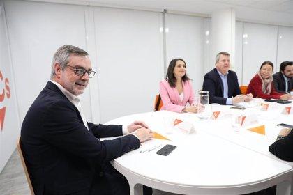 """Ciudadanos dice que mientras Sánchez apueste por pactar con Podemos y nacionalistas, """"no hay nada de qué hablar"""""""