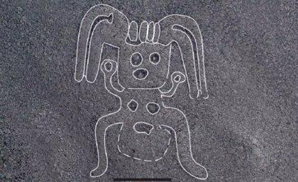 Misteriosas figuras humanoides reveladas en las Líneas de Nazca