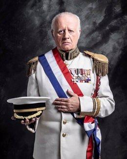 El actor Juan Echanove interpreta al dictador Trujillo en 'La fiesta del chivo'