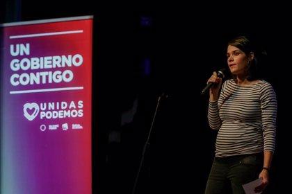 """Unidas Podemos defiende a Isa Serra: """"Lo que dice la Policía es falso y tenemos confianza absoluta en su absolución"""""""