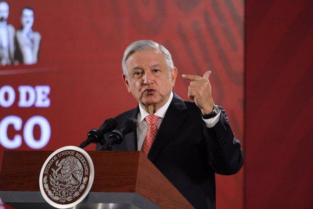 """Bolivia.- López Obrador afirma que México aún no ha """"resuelto"""" si reconoce a la"""