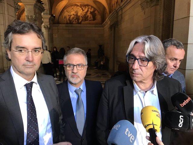 Eduard Torres, Joan Torrella, Xavier Marcé i Gabriel Jené