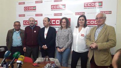 """Nuria López (CCOO-A) critica que el Gobierno andaluz de PP y Cs """"tiene empantanada la gestión"""""""