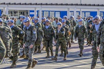 Parte este martes de Almería la segunda rotación de 130 militares con destino a Líbano en misión internacional de paz