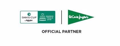 El Corte Inglés, patrocinador de la Davis Cup By Rakuten Madrid Finals