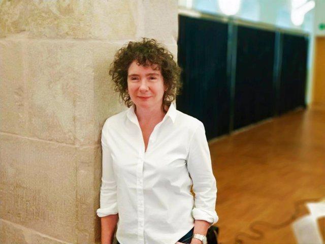 L'escriptora anglesa Jeanette Winterson al CCCB