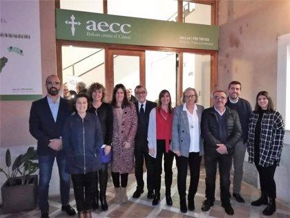 La AECC Baleares inaugura la nueva sede de la Junta Comarcal del Llevant de Mallorca en Campos