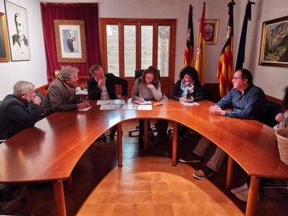 """Cladera se reúne con el alcalde de Fornalutx para conocer las """"necesidades"""" muncipales y trabajar """"conjuntamente"""""""
