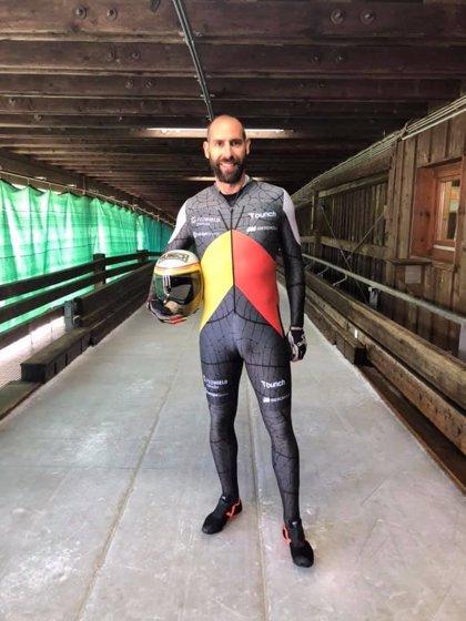 """Ander Mirambell comienza la temporada de skeleton con ganas de """"encaminar los Juegos"""""""