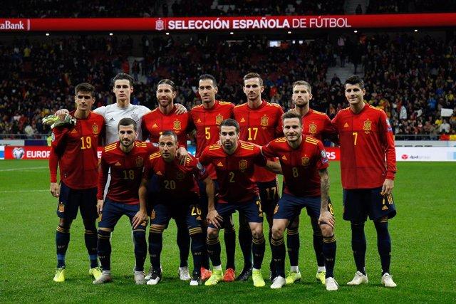 Fútbol/Selección.- Crónica del España - Rumanía: 5-0