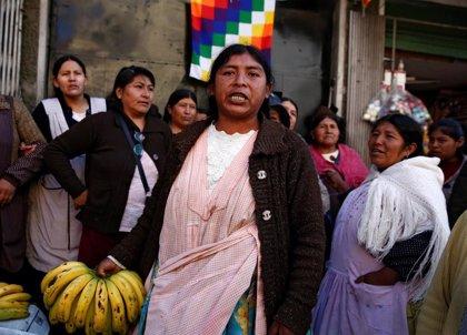 Las marchas para exigir la dimisión del Gobierno de Áñez avanzan hacia La Paz