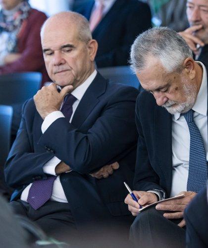Audiencia comunica este martes la sentencia de los ERE sobre Chaves, Griñán y otros 19 excargos de la Junta