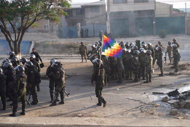 Protestas en Sacaba, Cochabamba