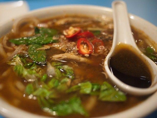 Sopa tradicional China.