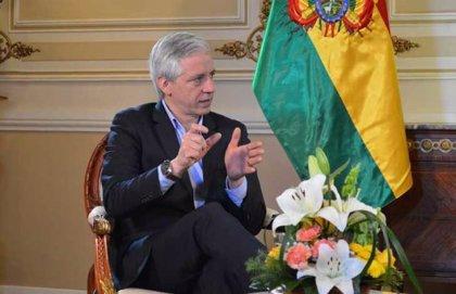 """García Linera se declara """"vicepresidente en el exilio"""" y dice estar dispuesto a volver """"si eso ayuda a Bolivia"""""""