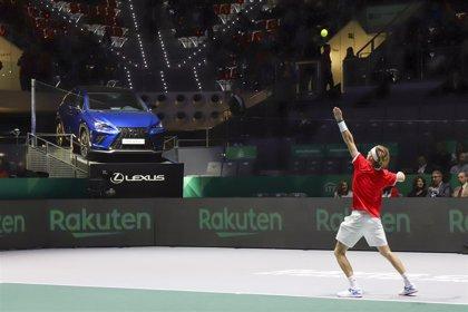 Taburete y la victoria de Rusia dan el pistoletazo de salida a la Copa Davis 2019