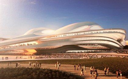 Las obras del Estadio Olímpico de Tokyo 2020 finalizan el próximo enero
