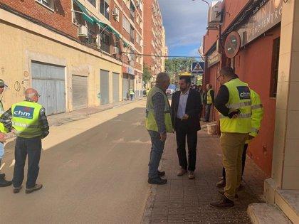 Comienzan las primeras pruebas para la instalación de un asfalto frío que reducirá la contaminación en Murcia