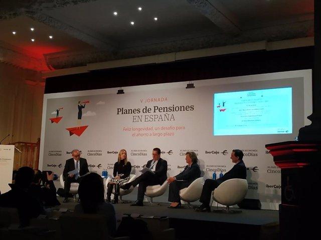 V edición de la jornada Planes de pensiones en España, organizada por CincoDías e Ibercaja.