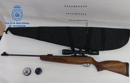 A prisión en Almería acusado de disparar a los peatones desde su casa con una escopeta de aire comprimido