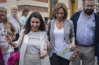 Fiscalía investiga a Monasterio por presunto delito de odio por un acto electoral ante un centro de 'menas' en Sevilla